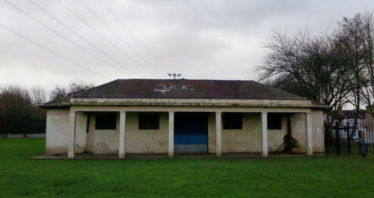 Little Ilford Park pavilion