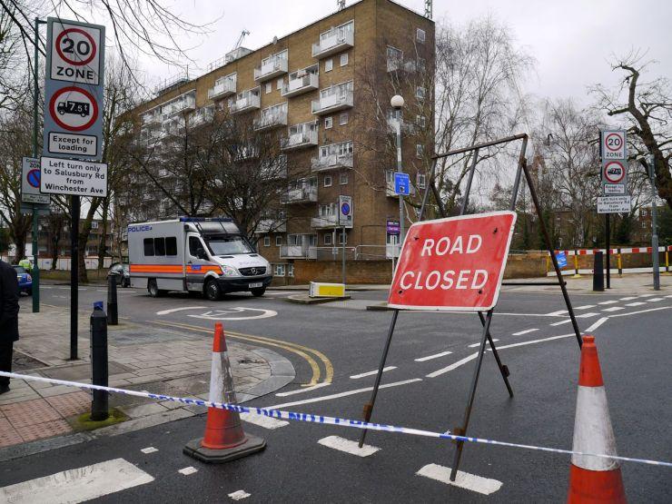 WW2 Bomb Brondesbury Willesden Lane