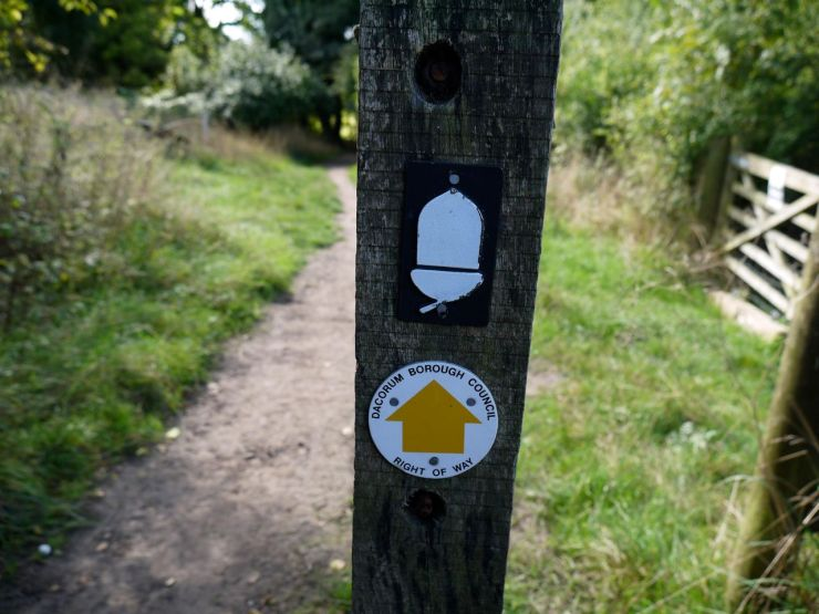 Ridgeway sign post