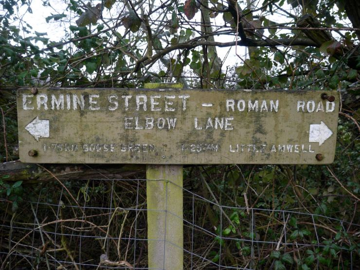 Ermine Street Elbow Lane
