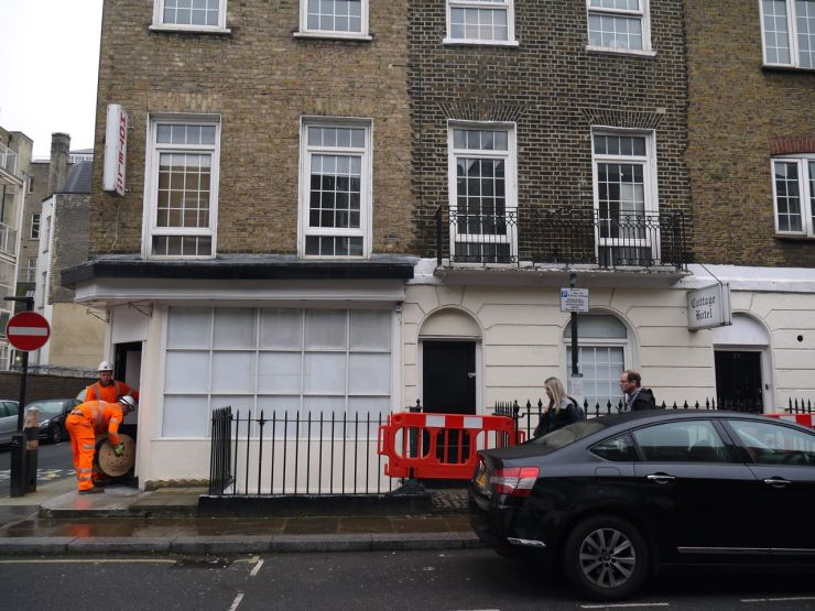 Euston Street HS2 demolition