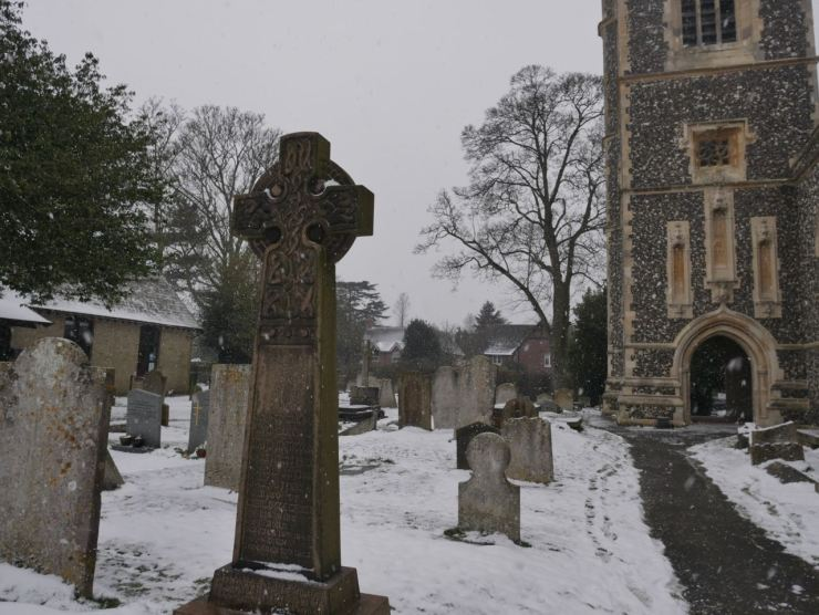Havering-atte-Bower snow
