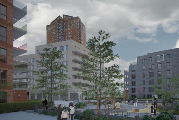 Marlowe Road Estate regeneration