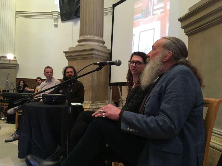 Alan Moore, Andrew O'Neill, Mark Pilkington, and John Higgs