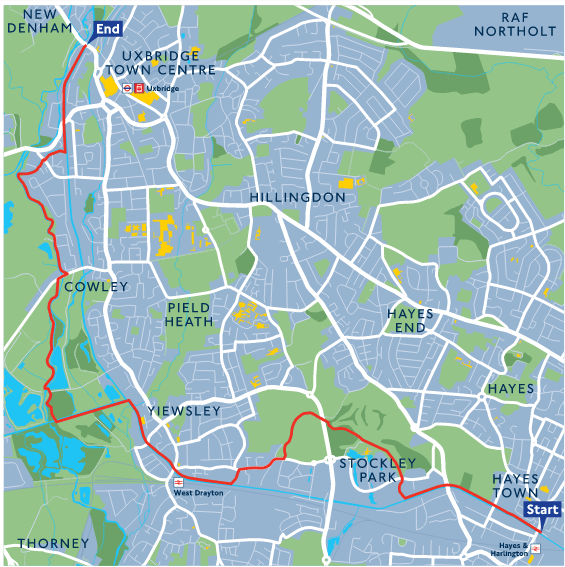 London Loop Section 11 map
