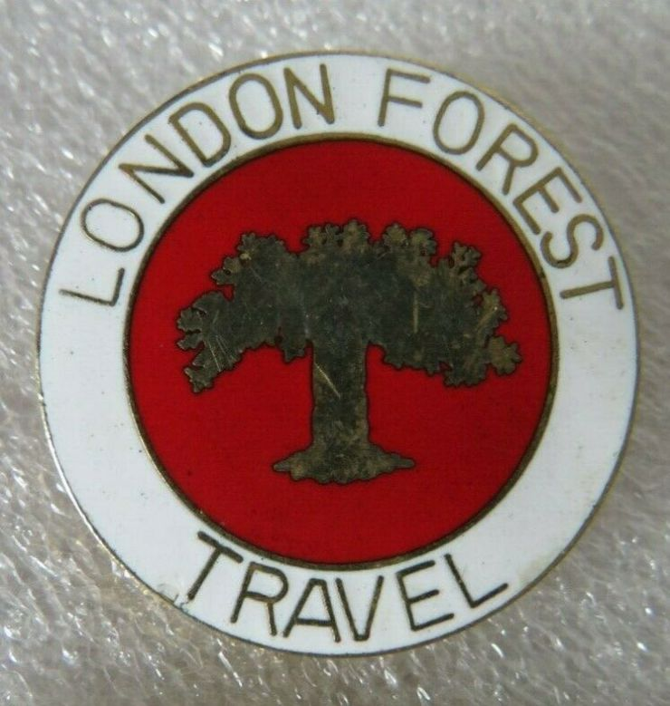 London Forest bus badge