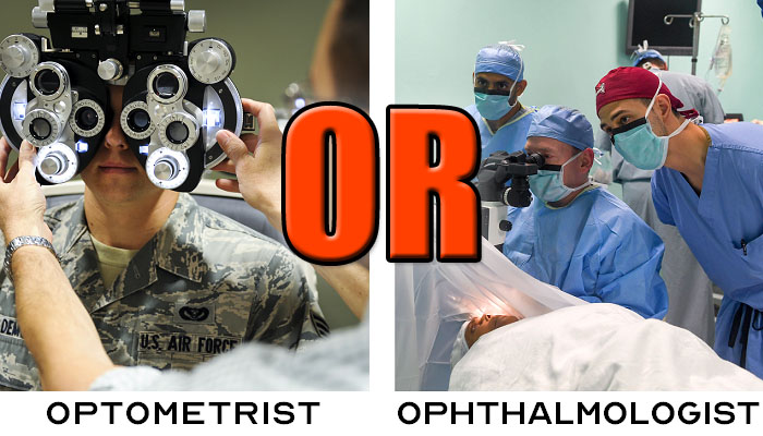 Should You See An Optometrist Or Ophthalmologist