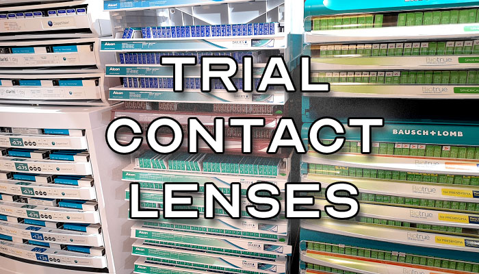Ordering Trial Contact Lenses - Featured