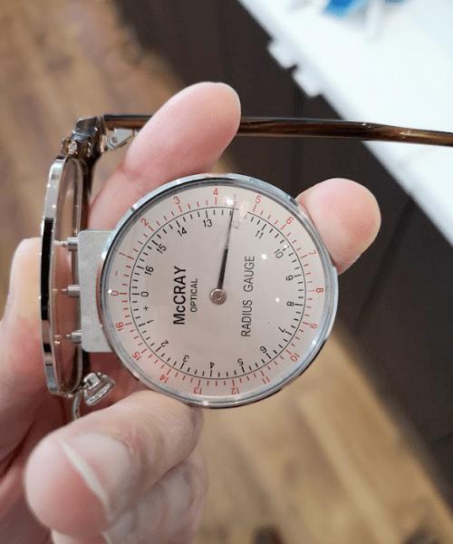 Lens Clock Measuring Back Curve