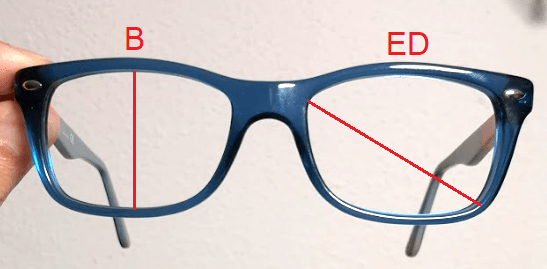 Examples of B and ED measurements