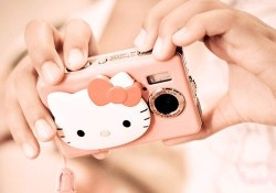 cute hello kitty camera