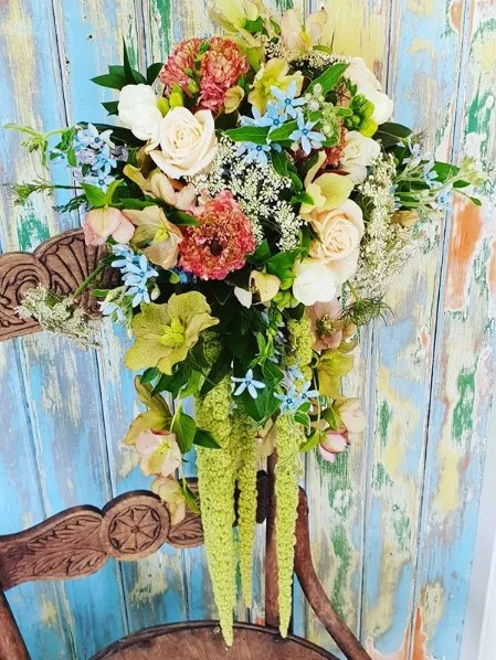 April Wedding Flowers Tweedia Bridal Bouquet
