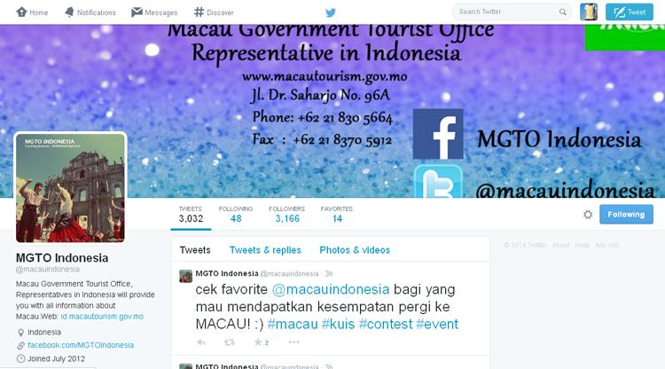 twitter Macau