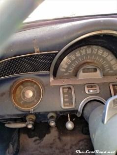 1955 Pontiac Chieftain Dash