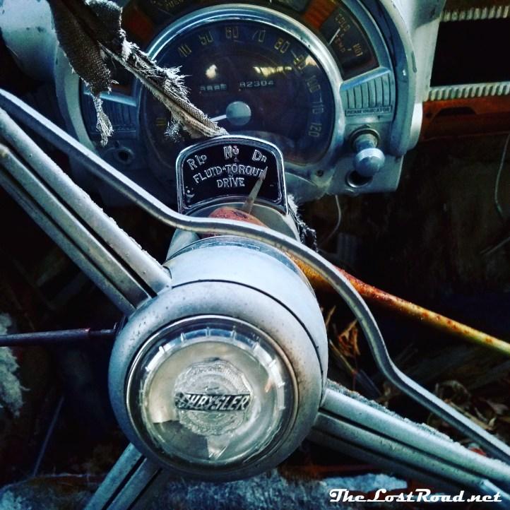 1951 Chrysler New Yorker Interior