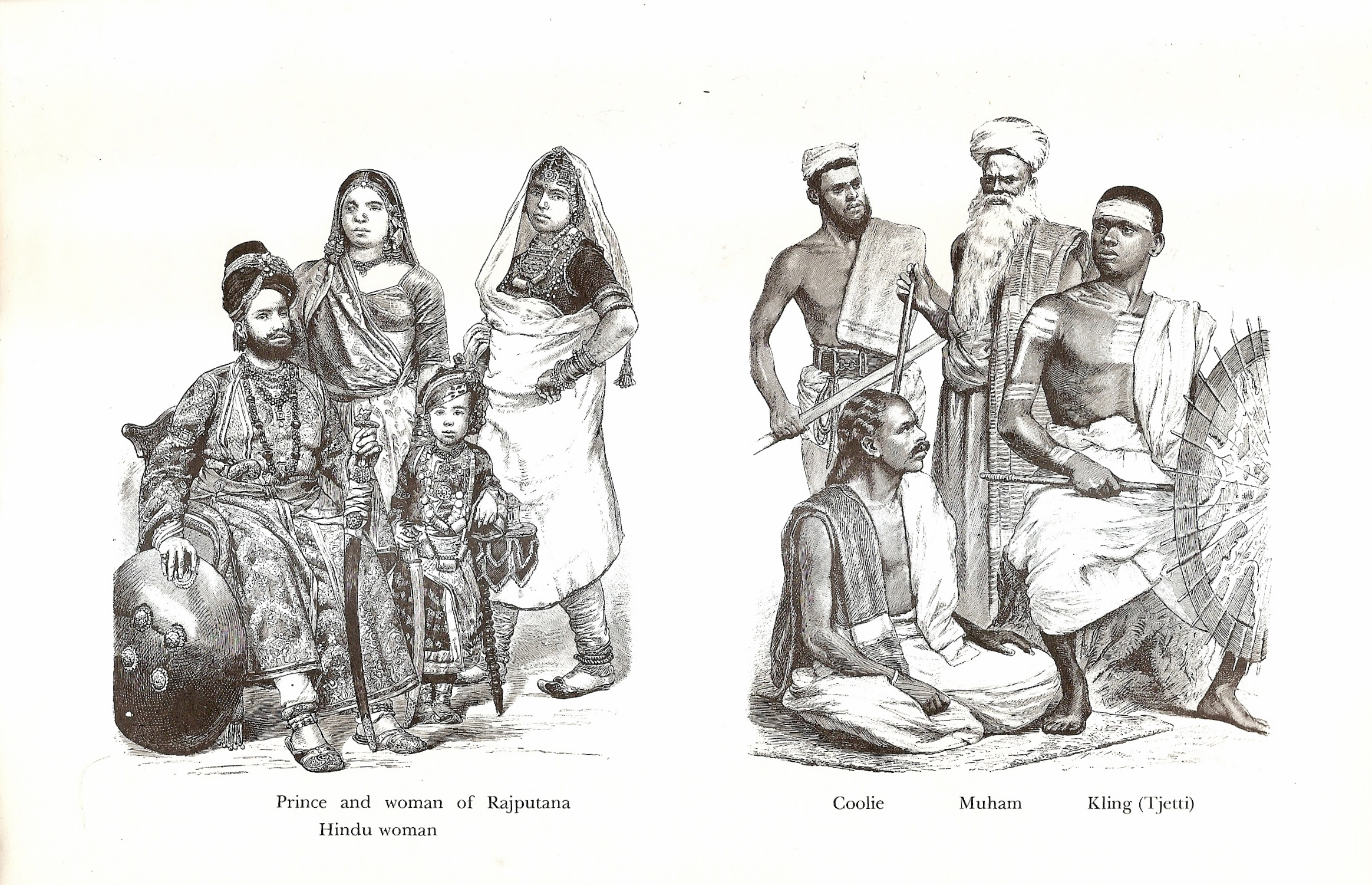 19th Century India and Malaysia