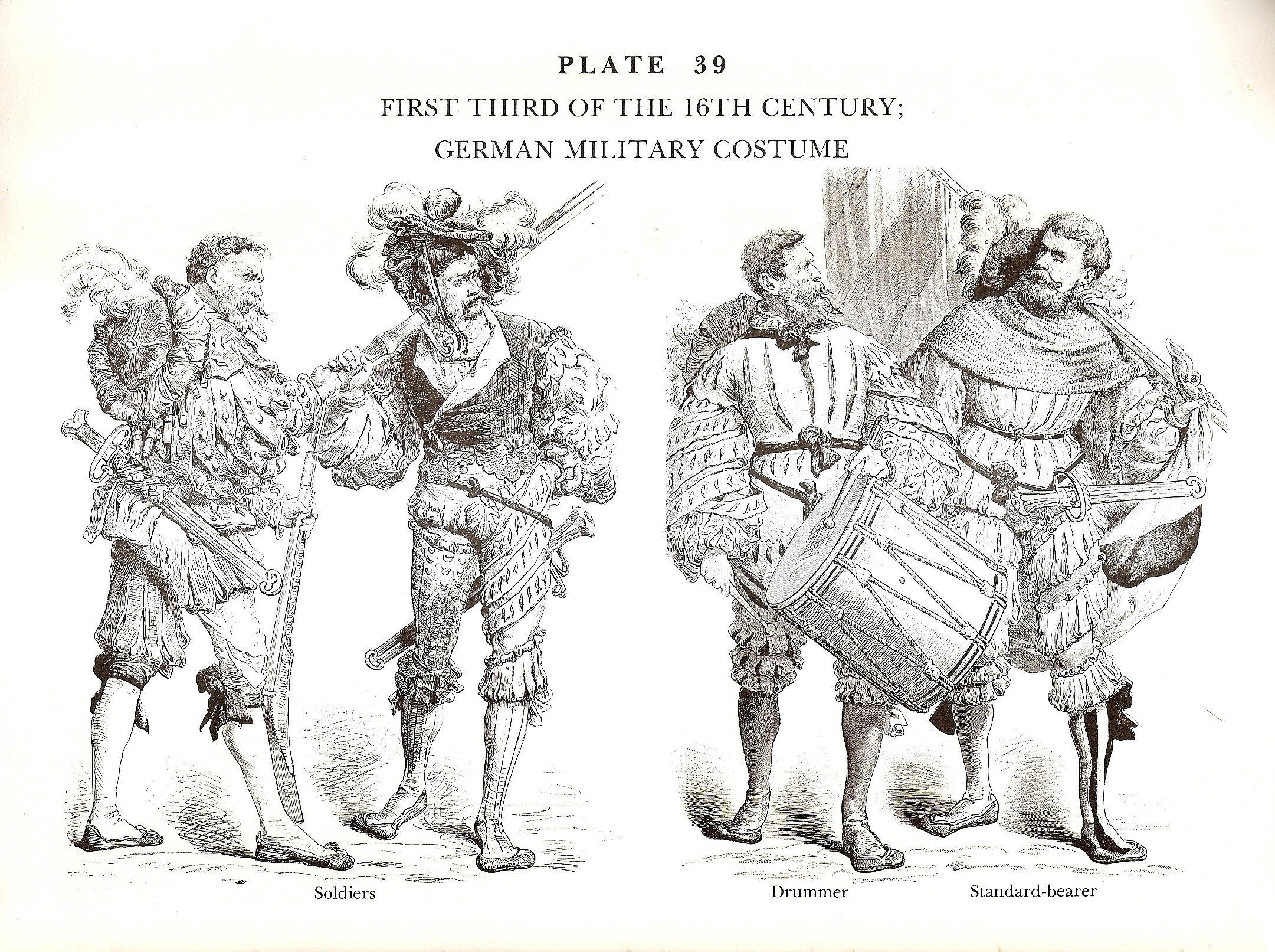 First Third of the 16th Century German Military Costume