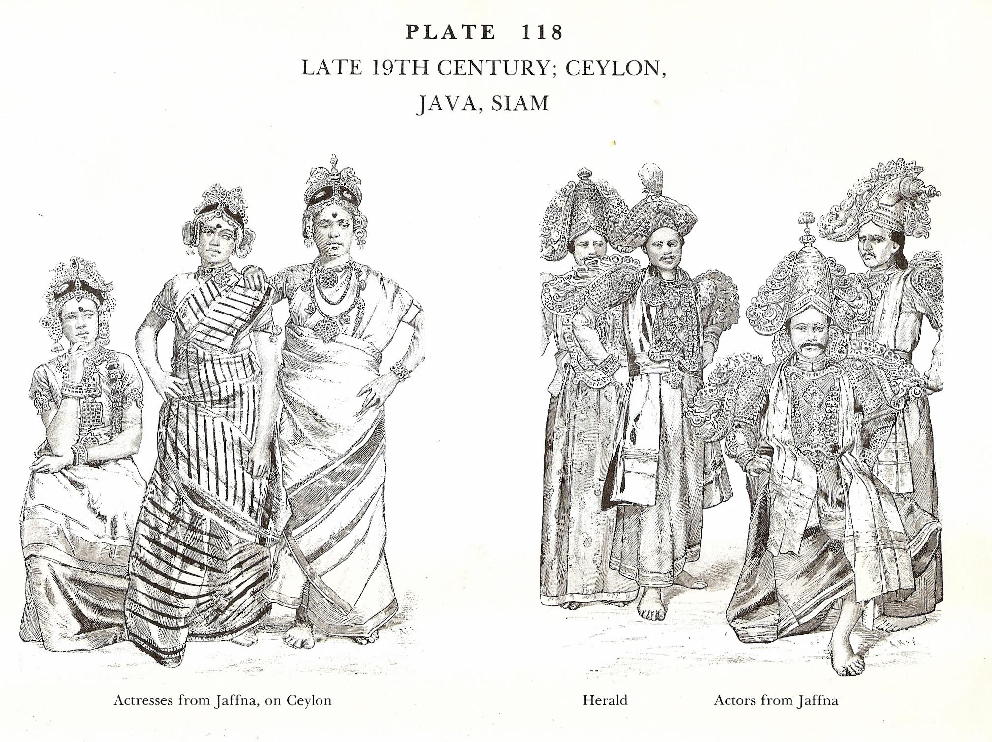 Late 19th Century Ceylon, Java, Siam