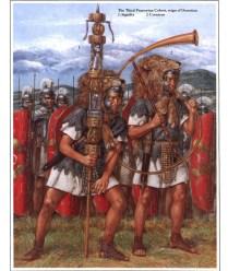 richard hook showing roman army standard bearers