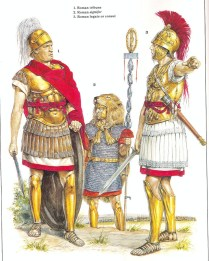roman generals during the war against carthage in the 3th century BC by Richard Hook