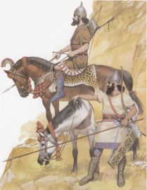 Assyrian cavalry from the reign of Sargon II (721-715 BC)