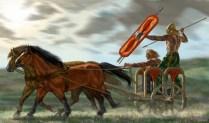British Celtic War Chariot 50 BC