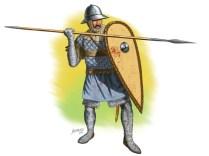 Byzantine Infantryman, XIV century