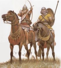 Early Assyrian cavalry from the reign of Ashurnasirpal II (833-859 BC)2