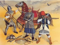 egyptian mamluk warriors serving in the Ottoman Empire in the 16th century AD