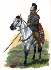 Gallic Cavalryman 1st Century BC