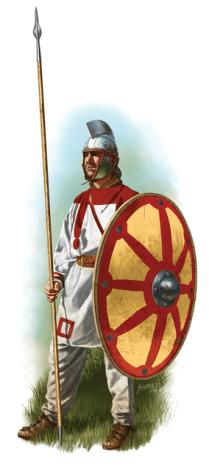 Infantryman V century AD
