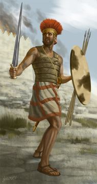 Philistine Warrior 1000 BC