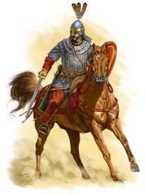 Roman Trooper, late sixth century AD
