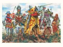 French warriors of the Hundred Years war