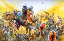 La batalla de Manzikert, 1071 d.C.