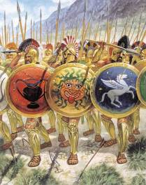 Late greek Hoplites