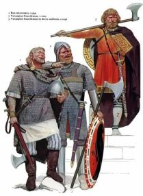 Mercenarios rusos de la Guardia Varenga_Siglos X-XI