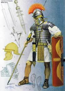 oman army warrior in the 1st century AD
