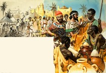 Phoenician traders in Africa