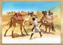 Vandal and Moorish Warriors early 6th Century.