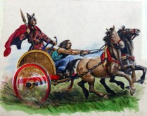 A Celtic Chariot by Peter Jackson