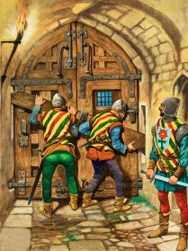 Barring The Town Gate