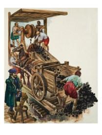 peter-jackson-a-tallyman-notches-up-how-many-loads-of-coal-leave-the-mine-as-a-miner-fills-a-cart_i-G-53-5387-FHWJG00Z
