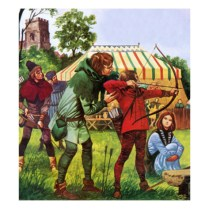 peter-jackson-boy-being-taught-the-longbow_i-G-53-5398-VFPJG00Z