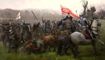 battle of Swiecino or Schwetz for Medieval Warfare Magazine; German teutonic knights faced lipka tatars and poles again in 1642