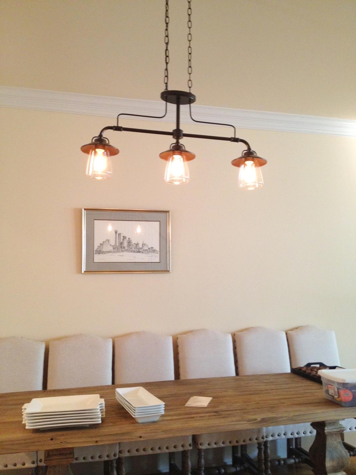 kitchen table light fixtures ninja mega system edison fixture thelotteryhouse