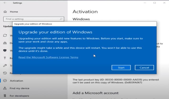 Windows 10 home to pro upgrade free