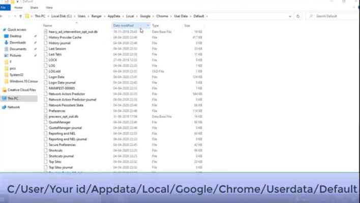 Fix google chrome high disk usage