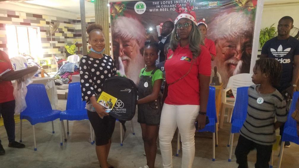 Presentation of Gift Items at Sharing and Caring Season 3