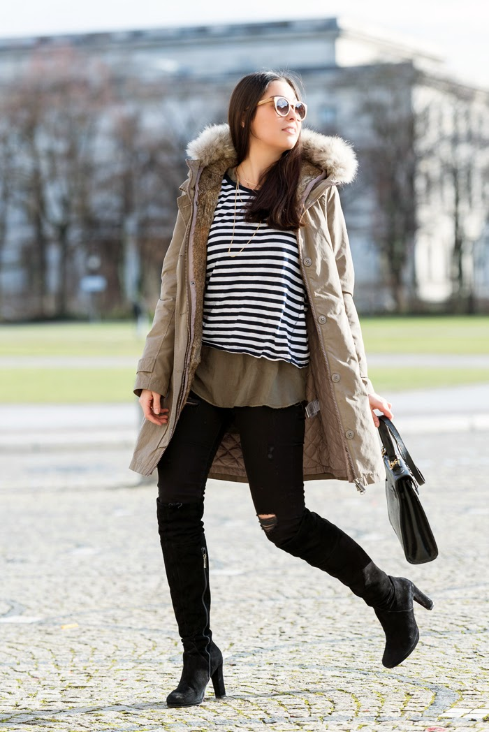 Out-in-the-cold-Fashionblogger-Outfit-of-the-Day-Streetstyle-Munich-Winter-Bomboogie-Parka-Olive_2
